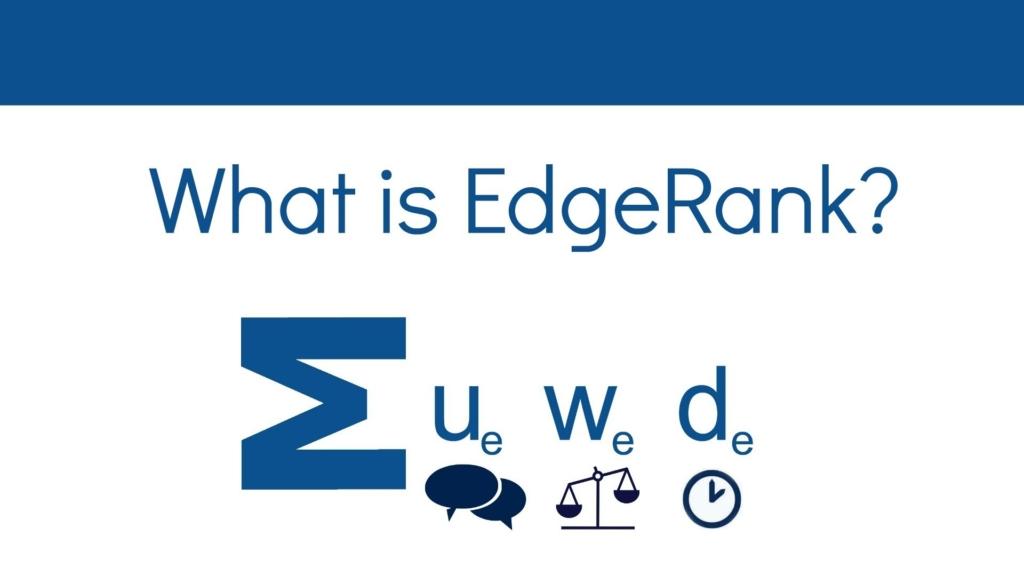 EdgeRank algorithm