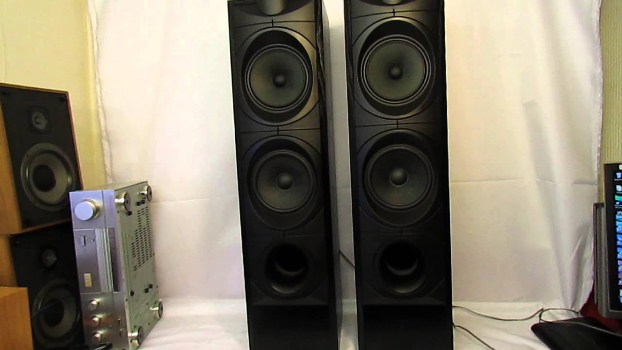 position of the speakers