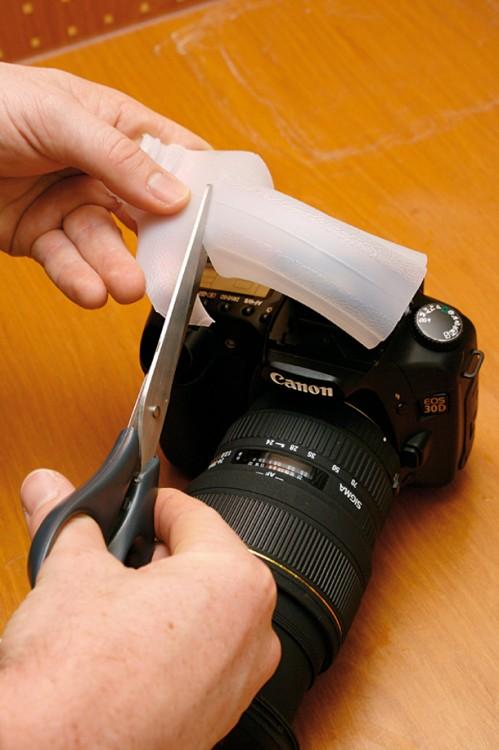 Create a light diffuser with an empty milk carton