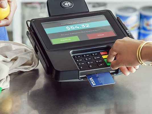 Engraving of credit cards