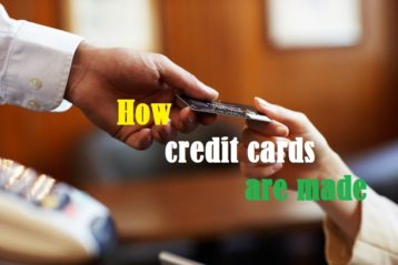 How credit cards are made
