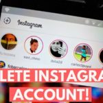 How to delete an instagram account from your device