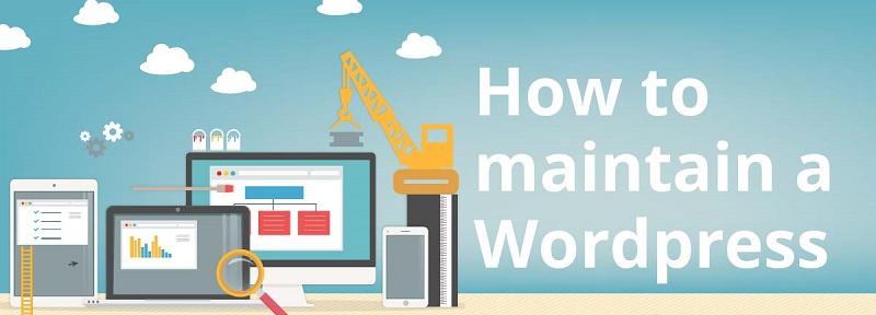 maintain WordPress