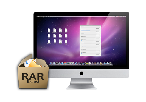 How to open a RAR file on Mac