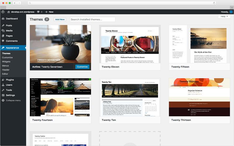 discover latest WordPress