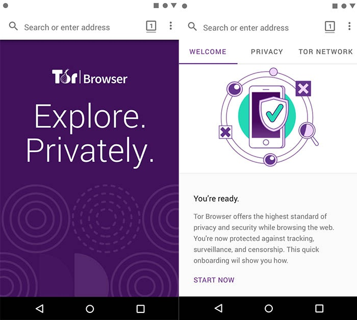Install TOR browser in Android