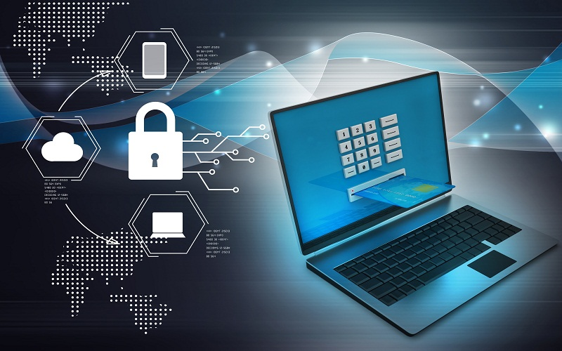 Types of Computer Security: software, hardware