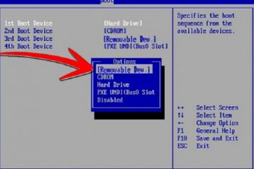 how to boot from a usb