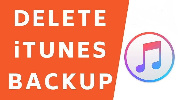 How to delete backup from iTunes